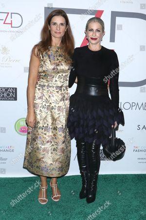 Livia Giuggioli and Carmen Busquets