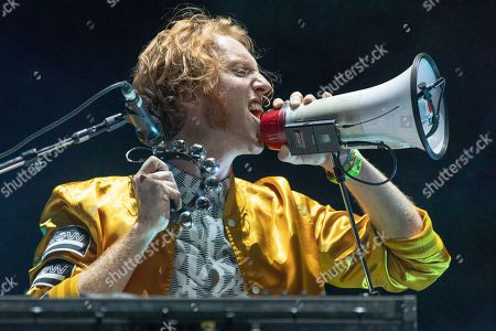 Stock Image of Arcade Fire - Richard Reed Parry