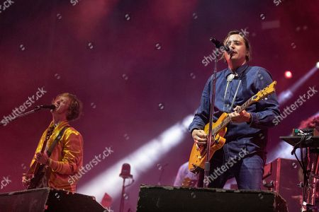 Arcade Fire - Richard Reed Parry and Win Butler