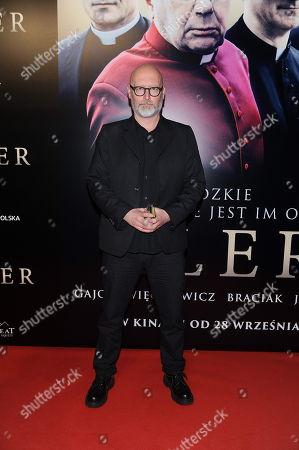 Stock Picture of Director Wojciech Smarzowski