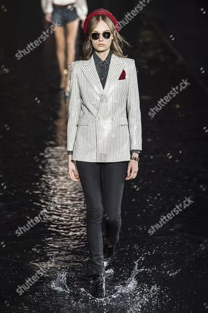 Fran Summers on the catwalk