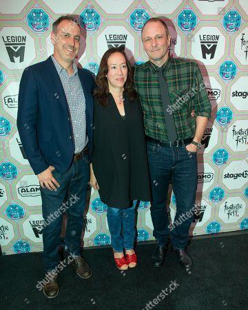 Stock Picture of Matt Manfredi, Karyn Kusama, and Phil Hay