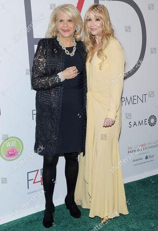 Evie Evangelou and Francine Lefrak