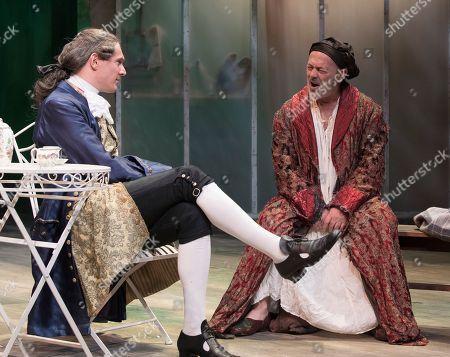 Taste of the Town Mark Umbers as Robert Walpole, Keith Allen as William Hogarth