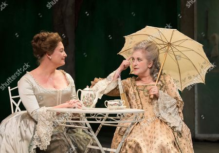 Taste of the Town Susannah Harker as Queen Caroline, Sylvestra Le Touzel as Mrs Needham,