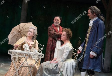 Taste of the Town Sylvestra Le Touzel as Mrs Needham, Keith Allen as William Hogarth, Susannah Harker as Queen Caroline, Mark Umbers as Robert Walpole,