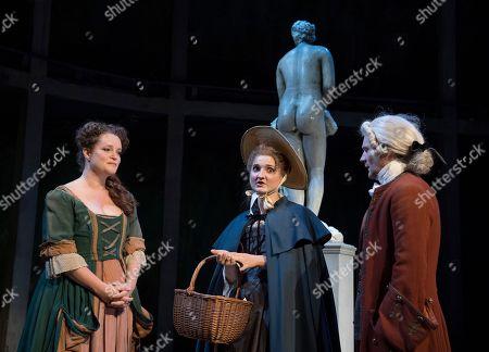 The Art of Success Emma Cunniffe as Louisa, Ruby Bentall as Jane Hogarth, Bryan Dick as William Hogarth