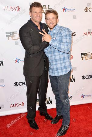 David Boreanaz and Max Thieriot