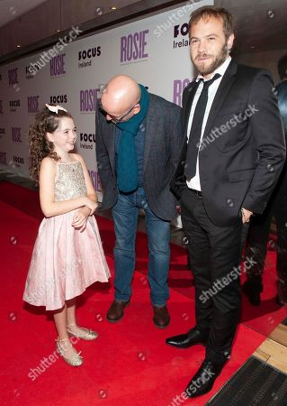 Roddy Doyle, Ruby Dunne and Moe Dunford