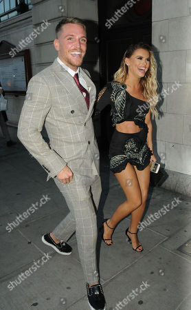 Tom Zanetti and Hayley Hughes