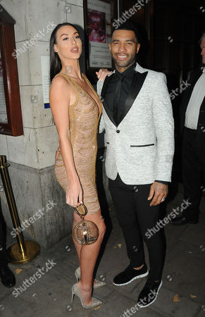 Alice Goodwin and Jermaine Pennant