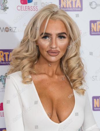 Editorial image of National Reality TV Awards, London, UK - 25 Sep 2018
