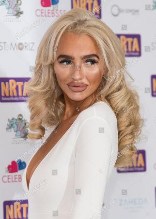 Editorial photo of National Reality TV Awards, London, UK - 25 Sep 2018