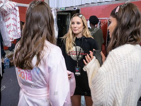 Ilona Smet backstage