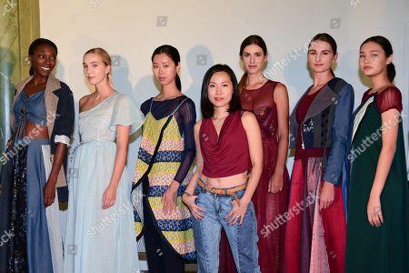 Samantha Giraud and models