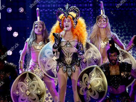 Cher in concert, Newcastle, New South Wales