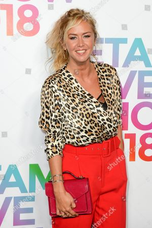 Editorial image of ETAM show, Arrivals, Spring Summer 2019, Paris Fashion Week, France - 25 Sep 2018