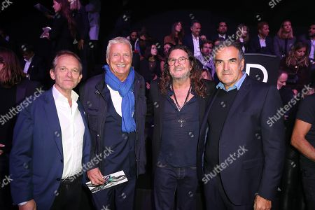 Stock Photo of Christian Courtin-Clarins, Jacques-Antoine Granjon, Christopher Baldelli