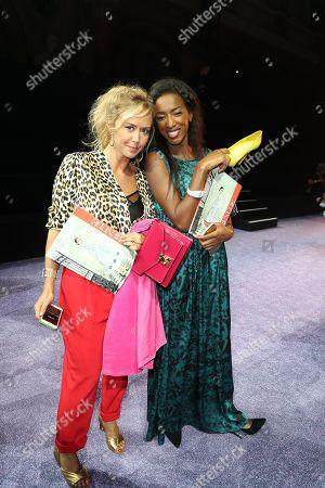 Editorial photo of ETAM show, Front Row, Spring Summer 2019, Paris Fashion Week, France - 25 Sep 2018