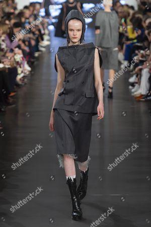 Editorial photo of Maison Margiela show, Runway, Spring Summer 2019, Paris Fashion Week, France - 26 Sep 2018