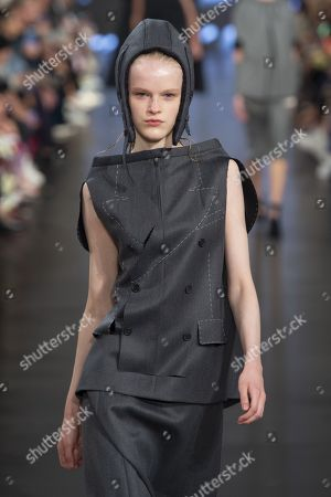 Stock Picture of Hannah Motler on the catwalk