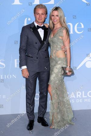 Nico Rosberg and Vivian Sibold