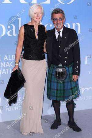 Eddie Jordan and Marie Jordan