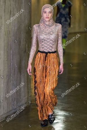 Stock Image of Real Feriel on the catwalk