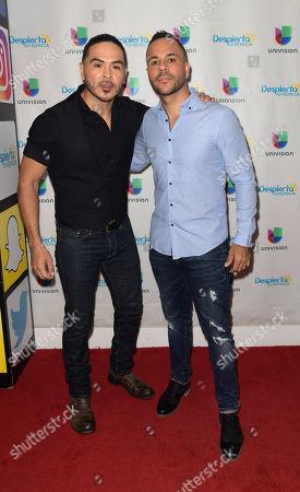 Gilbert Saldivar and Anthony Nardolillo