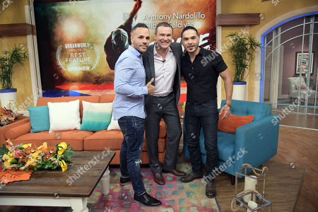 Anthony Nardolillo, Alan Tacher and Gilbert Saldivar