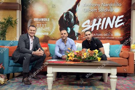 Alan Tacher, Anthony Nardolillo and Gilbert Saldivar