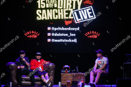 Editorial image of Dirty Sanchez in concert at the O2 Academy, Newcastle, UK - 21 Sep 2018