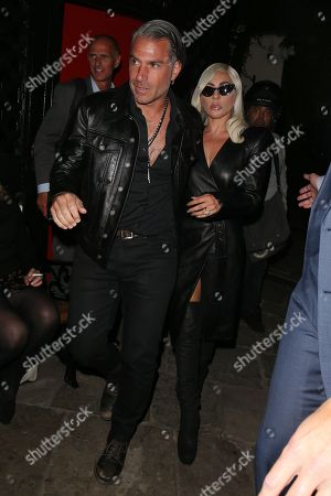Stock Photo of Lady Gaga and Christian Carino