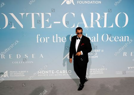 US actor Robert Davi attends the 2nd Monte-Carlo Gala for the Global Ocean 2018 in Monaco, 26 September 2018. The Monte Carlo Gala for the Global Ocean, hosted by the Prince Albert II of Monaco Foundation, is a fundraising auction, to support the Foundation's marine conservation initiatives.