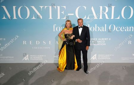Editorial picture of Monte Carlo Gala, for the Global Ocean 2018, Monaco - 26 Sep 2018