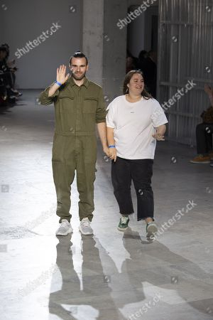 Marta Marques and Paulo Almeida on the catwalk