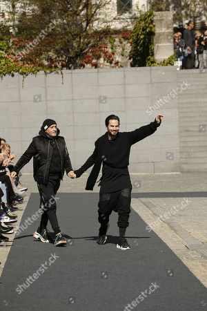 Stock Picture of Ben Taverniti on the catwalk
