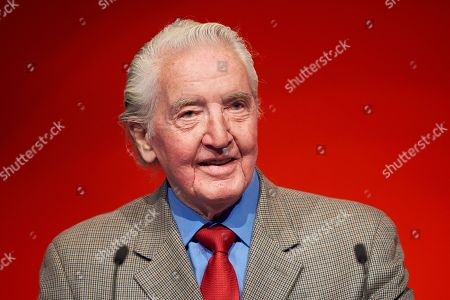 Dennis Skinner at the Labour Party Conference
