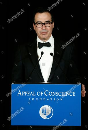 Editorial image of Appeal of Conscience Foundation Gala, New York, USA - 26 Sep 2018