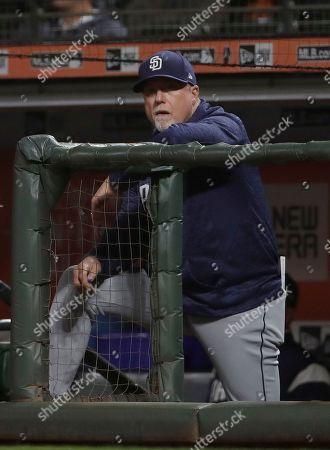 Editorial picture of Padres Giants Baseball, San Francisco, USA - 26 Sep 2018