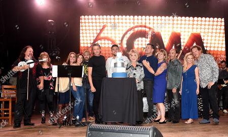 Editorial image of CMA's 60th Anniversary Celebration, Show, Nashville, USA - 26 Sep 2018