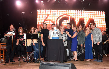 Stock Picture of Mark Collie, Michael Ray, Jeannie Seely, Ty Herndon, Sarah Trahern, Lee Greenwood