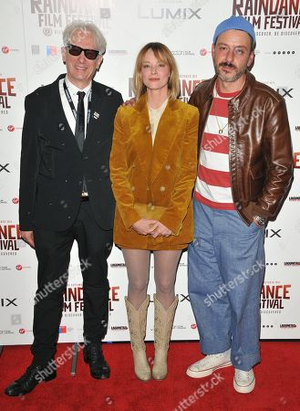 Elliot Grove, Sienna Guillory and Enzo Cilenti