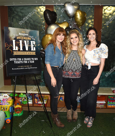 Ruthie Collins, Natalie Stovall and Kelleigh Bannen