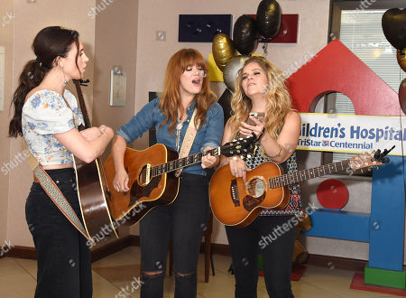 Kelleigh Bannen, Ruthie Collins and Natalie Stovall