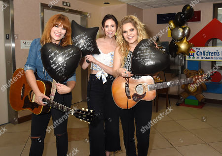 Ruthie Collins, Kelleigh Bannen and Natalie Stovall