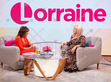 Lorraine Kelly and Jodie Prenger