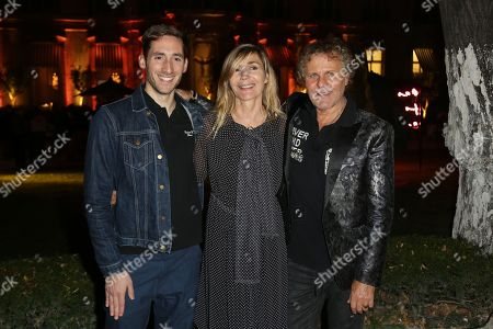 Antonin Tron, Nathalie Dufour and Renzo Rosso