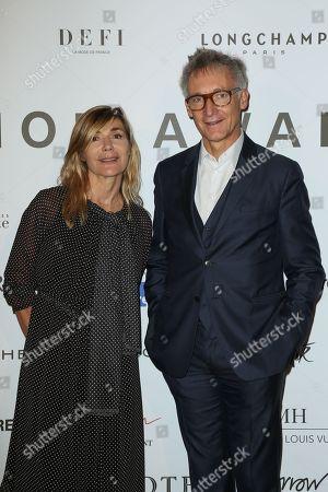 Nathalie Dufour and Geoffroy de la Bourdonnaye