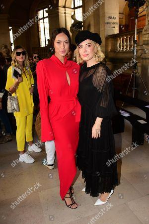 Debora Monteiro, Raquel Strada in the Front Row